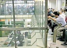 شوک بانکی به بورس تهران