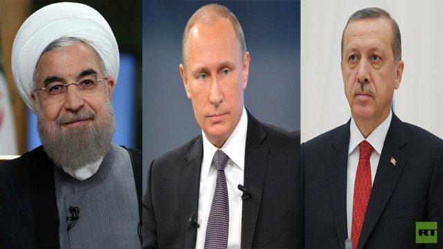 نشست رؤسای جمهور ایران، روسیه و ترکیه در تبریز برگزار می گردد