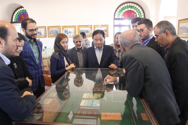 بازدید هیئت اقتصادی کره جنوبی از موزه تجارت و دریانوردی بوشهر