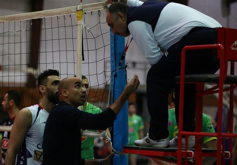 محمدی راد: شایسته صدرنشینی در لیگ والیبال هستیم، داور دوم، روان ما را به هم ریخت