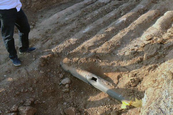 حفاری خودسرانه موجب انفجار لوله گاز در روستای صحنه آق قلا شد