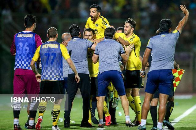 ایرانپوریان بازی با پرسپولیس را از دست داد