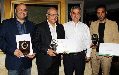نمایندگان ایران سه جایزه از کمیته پارالمپیک آسیا دریافت کردند