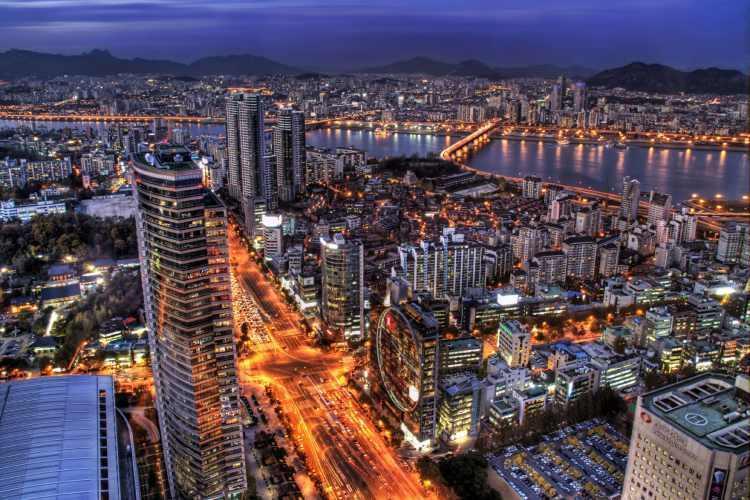 بزرگترین شهرهای کره جنوبی