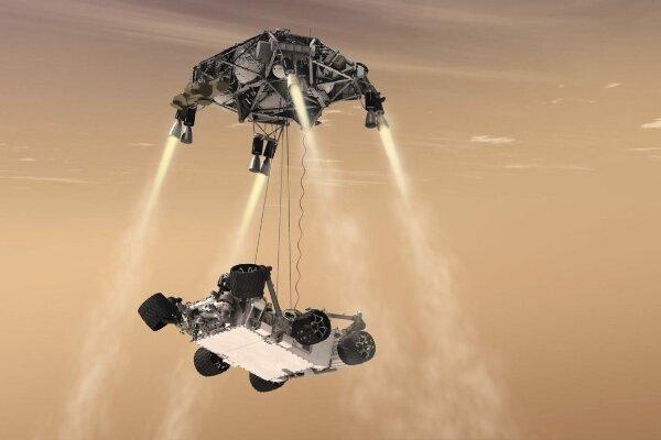 سیستم جداسازی کاوشگر مریخ2020 آزمایش شد