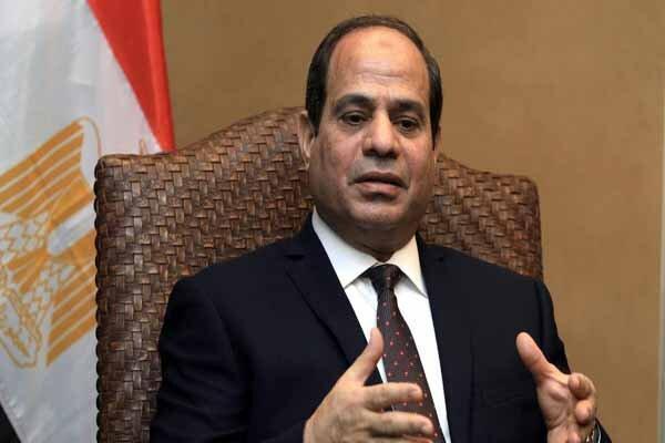 السیسی: جنگ روانی در صفوف مردم مصر رسوخ نموده است