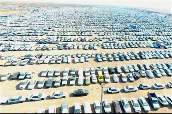 30 هکتار پارکینگ ذخیره در مرز شلمچه