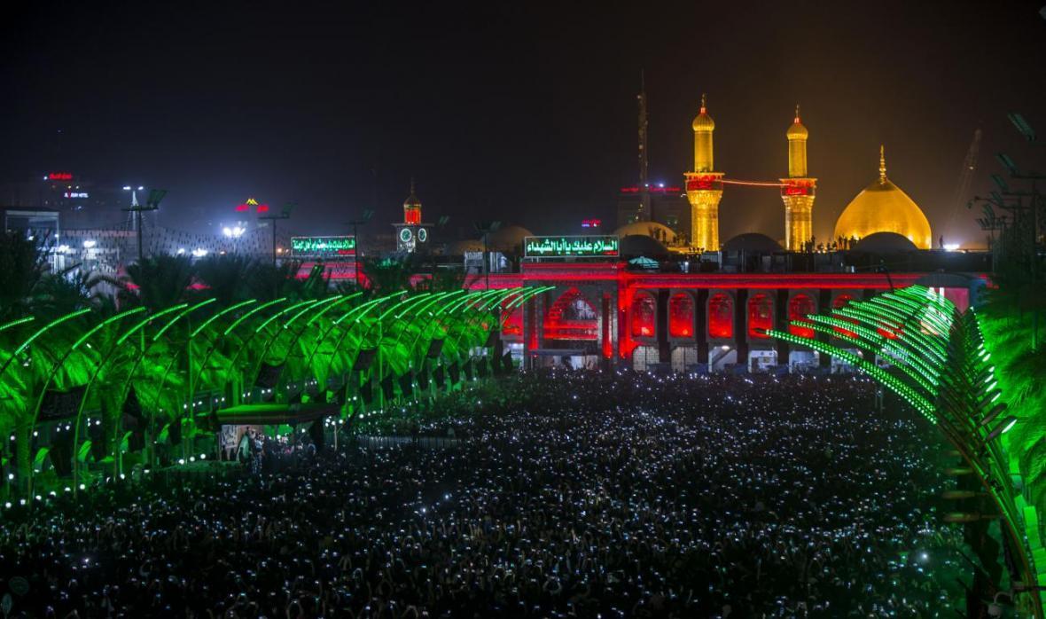 روزنوشت پیاده روی اربعین؛ بین الحرمین، مرکز عاشقان حسین