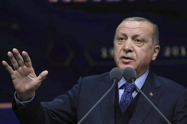 آنکارا: اردوغان با پنس دیدار می کند