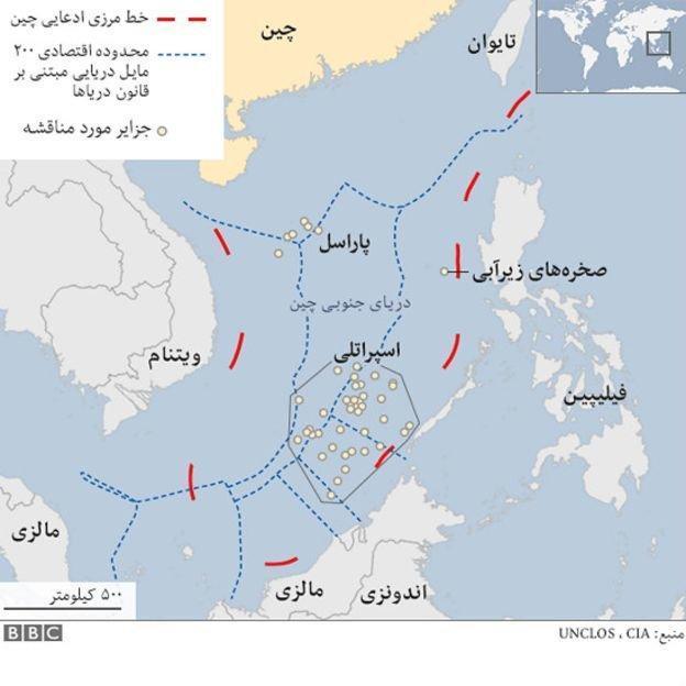 ساخت و سازهای جدید چین در جزایر مورد مناقشه دریای چین جنوبی