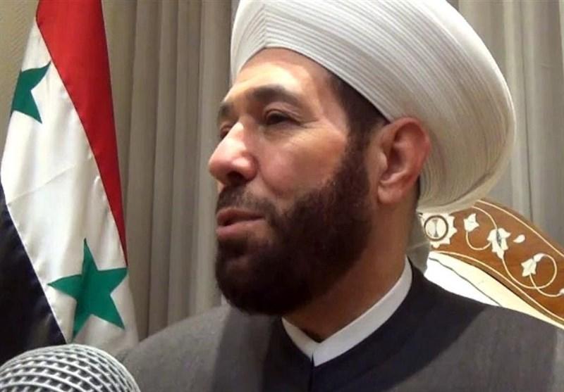 تاکید شیخ حسون بر اخراج متجاوزان بیگانه از سوریه، ربودن غیرنظامیان توسط شبه نظامیان وابسته به ترکیه
