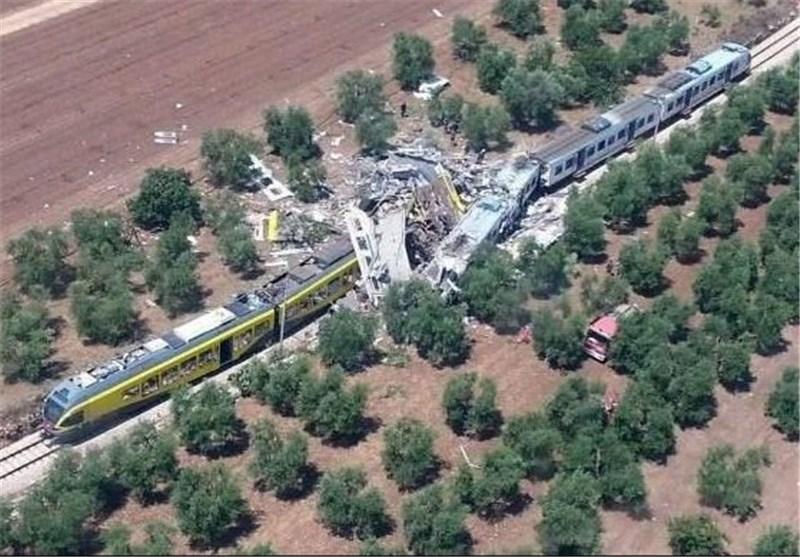 12 کشته در برخورد دو قطار در ایتالیا