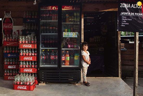 مردم اینجا به جای آب، کوکا کولا می نوشند!
