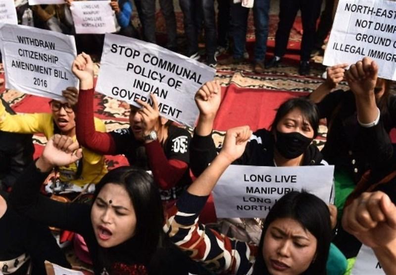 ادامه اعتراض فعالان مدنی هند به تصمیم جدید دولت دهلی نو علیه مسلمانان