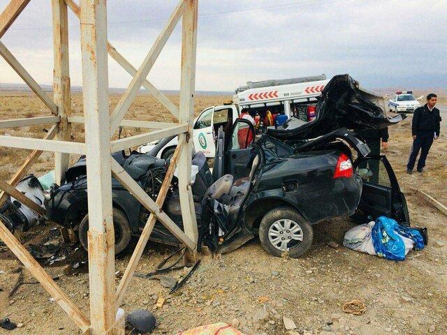حادثه رانندگی در نیشابور سه کشته داشت، حال یکی از مصدومان وخیم است