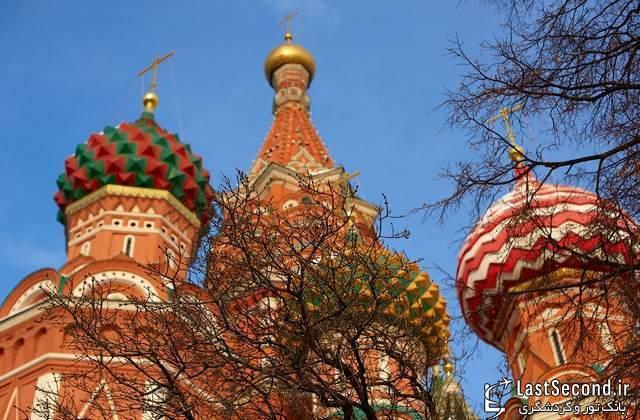 معرفی جاذبه های گردشگری روسیه