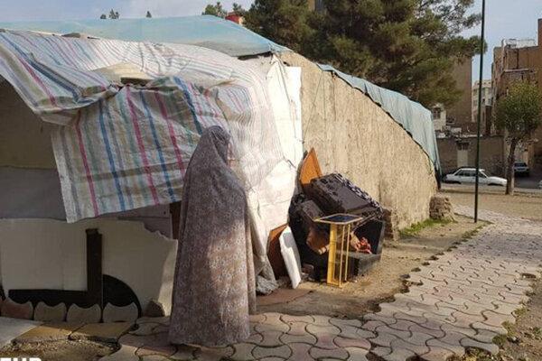 زن 50 ساله بی خانمان کرجی خانه دار شد