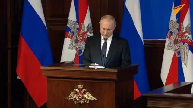 پوتین: حضورمان در طرطوس سوریه برای تضمین ثبات این منطقه است