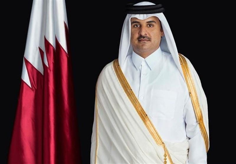 امیر قطر در سفری رسمی به تونس رفت