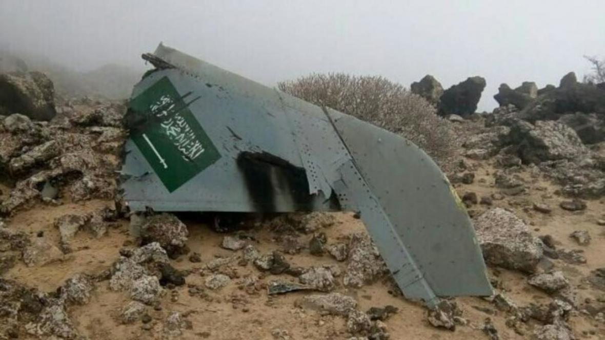 اسارت خلبانان جنگنده سعودی به دست نیرو های یمنی
