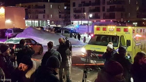 پنج کشته در جریان تیراندازی در مسجد کبک سیتی کانادا