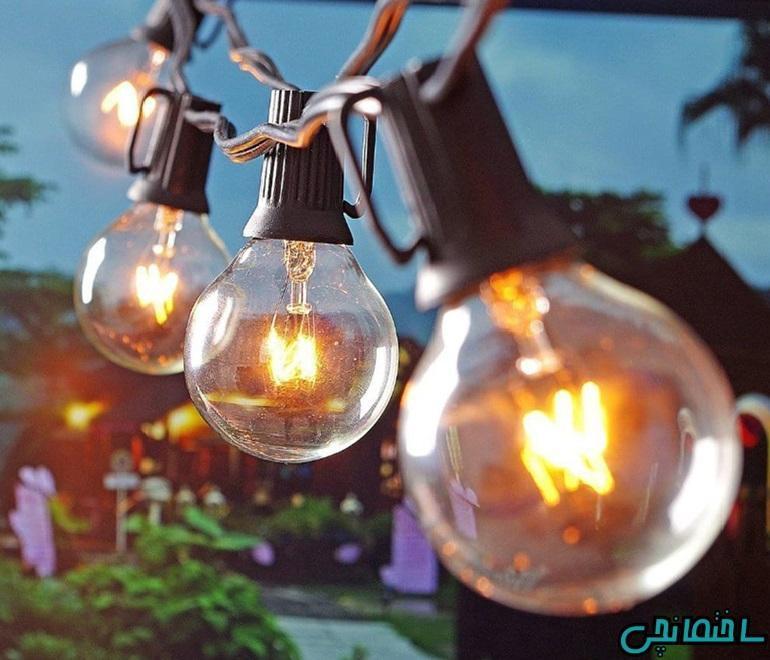 لامپ روشنایی و انواع آن
