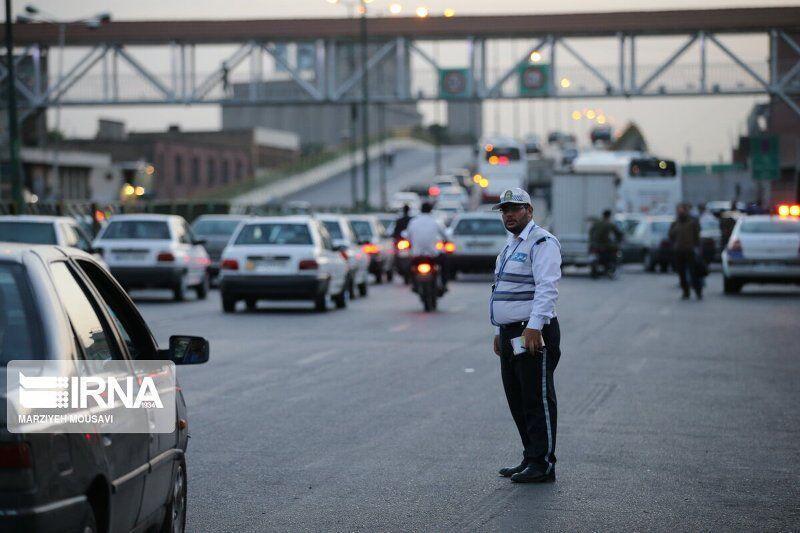 خبرنگاران اجرای طرح زوج و فرد تردد خودروها در بهشهر