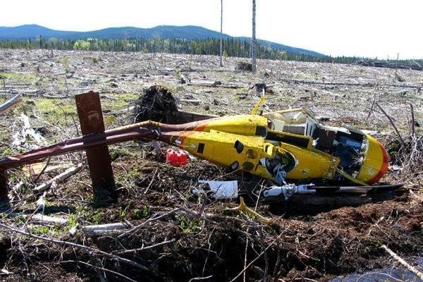 سقوط یک فروند بالگرد در کانادا جان 4 تن را گرفت