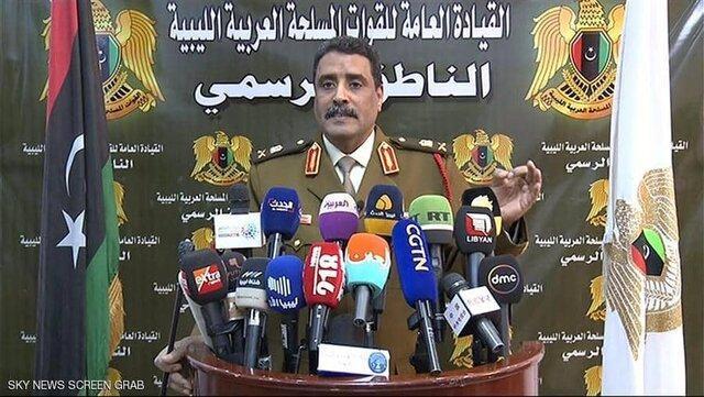 ارتش ملی لیبی: با همه نیروهای ارتش ترکیه می جنگیم
