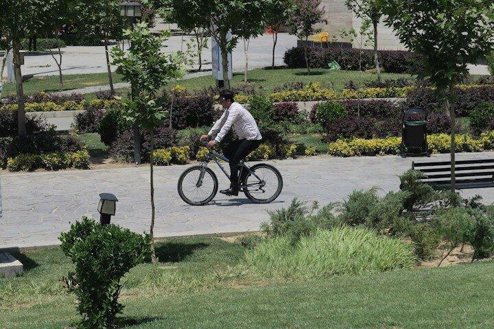 ضرورت توسعه زیرساخت های دوچرخه سواری در یزد