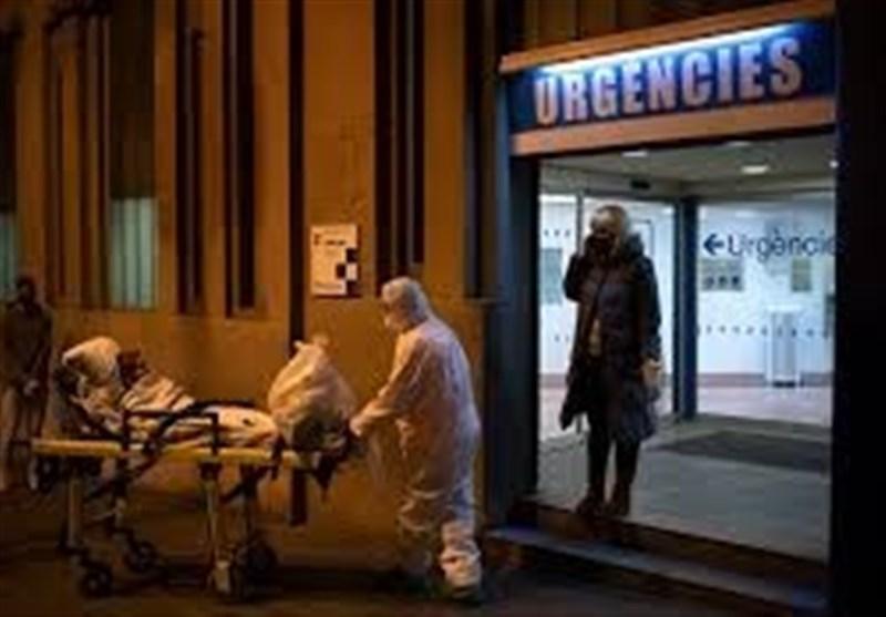 کرونا، فوت 435 نفر اسپانیایی در عرض 24 ساعت گذشته