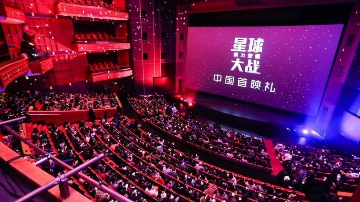 فروش سینما در چین رکورد زد