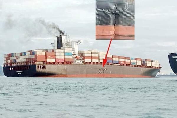 آخرین اخبار درباره کشتی به گل نشسته ایران در سنگاپور