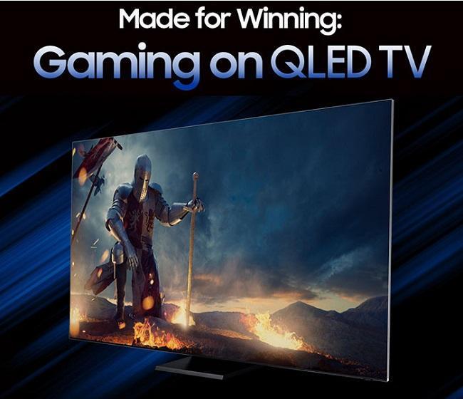 تلویزیون های QLED برای گیمرها بهینه سازی شد