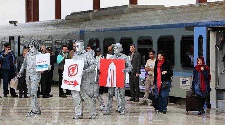 سوت قطار گردشگری در همدان شنیده می شود