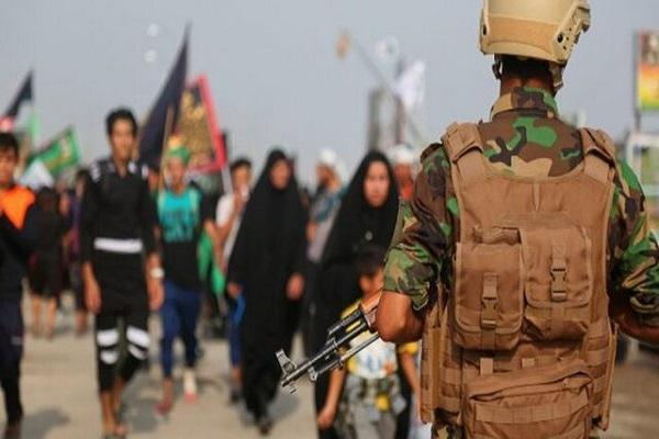 تامین امنیت کربلا در روز عاشورا با 30 هزار نیروی امنیتی، کشف موشک داعش در جنوب سامرا