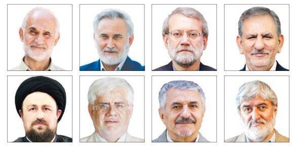 1+5 ؛ گزینه های تکذیب شده کارگزاران و کاندیدای زن برای انتخابات 1400 ، از حسن خمینی تا دهقان و لاریجانی