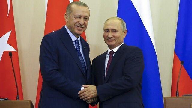 گفتگوی تلفنی پوتین و اردوغان درباره قره باغ، سوریه و لیبی