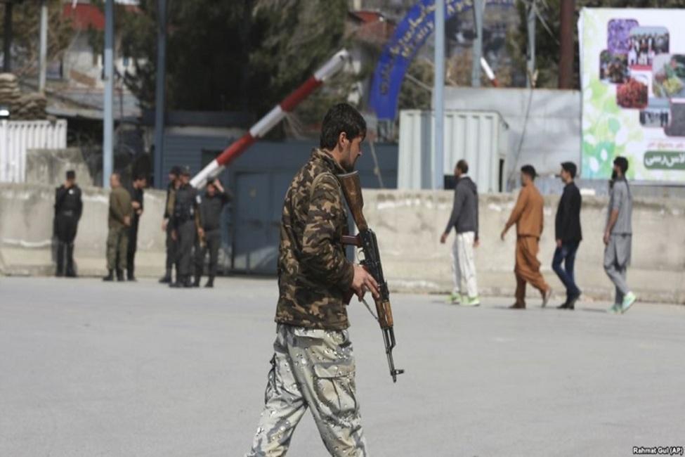 حمله افراد مسلح به دانشگاه کابل