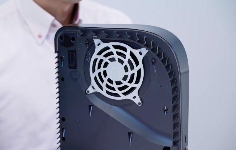 فن PS5 با آپدیت های نرم افزاری قابل تنظیم است