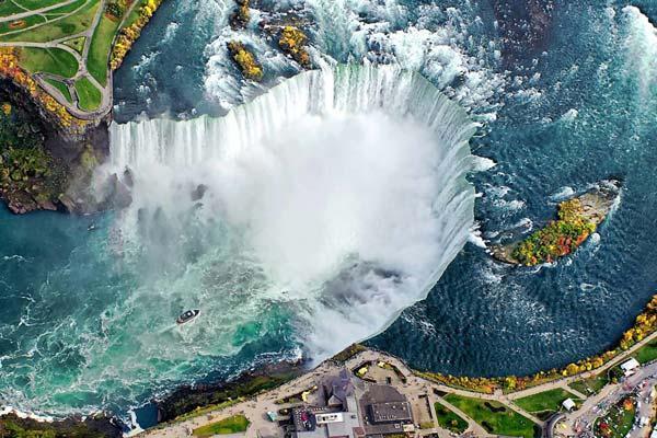 آبشار نیاگارا، معروف ترین آبشار دنیا