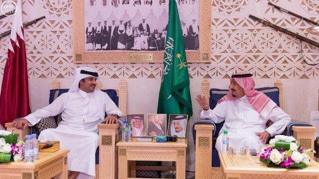 عربستان دنبال گشایشی در حل اختلاف با قطر