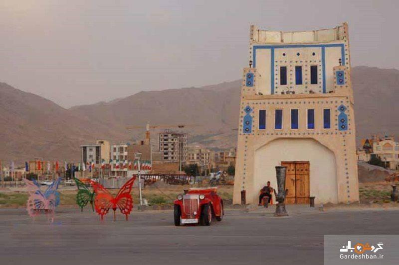 برج شیشه و عمارت ارگ قدیم؛ بنای قاجاری در اراک، عکس