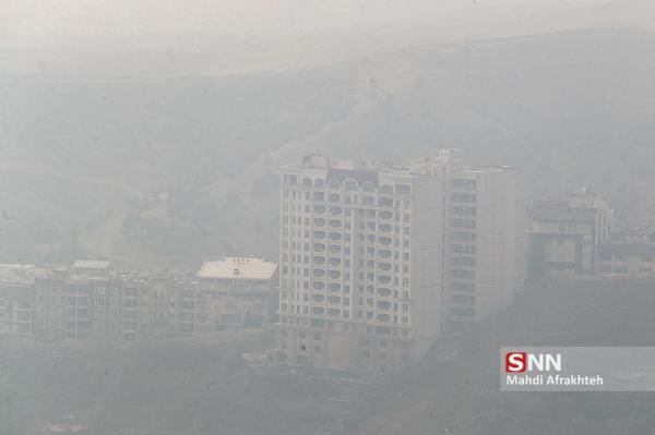 تداوم آلودگی هوا در تهران، دمای هوای پایتخت