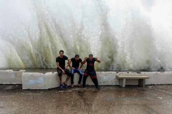 هشدار هواشناسی نسبت به افزایش ارتفاع موج تا دو متر در خلیج فارس