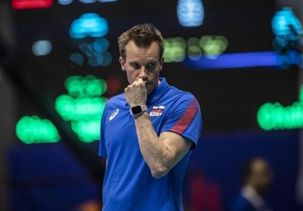 سرمربی تیم ملی والیبال روسیه تا المپیک ماندنی شد