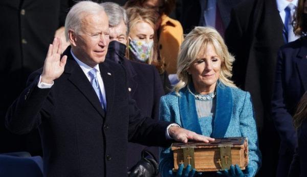 جو بایدن سوگند خورد و چهل وششمین رئیس جمهور آمریکا شد