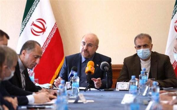 قالیباف: دو هاب اقتصادی و لجستیکی میان ایران و روسیه شکل می گیرد