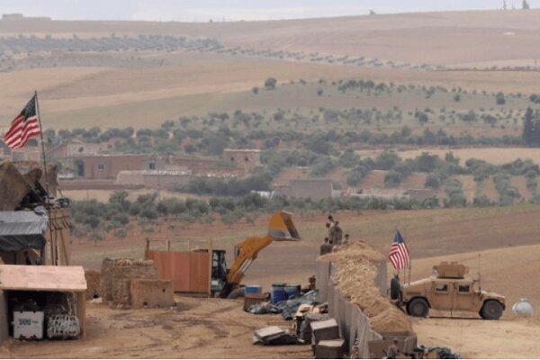 اشغالگران آمریکایی یک پایگاه جدید نزدیک مرز عراق می سازند