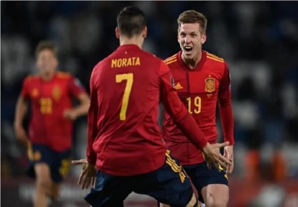 مقدماتی جام جهانی 2022، اسپانیا اولین پیروزی اش را در گرجستان کسب کرد